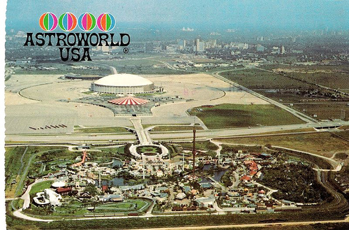 Astroworld when it opened in 1968