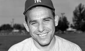 The noble Yankee -- Yogi Berra.